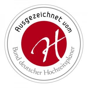 Gütesiegel vom Bund deutscher Hochzeitsplaner für Martina Rinke