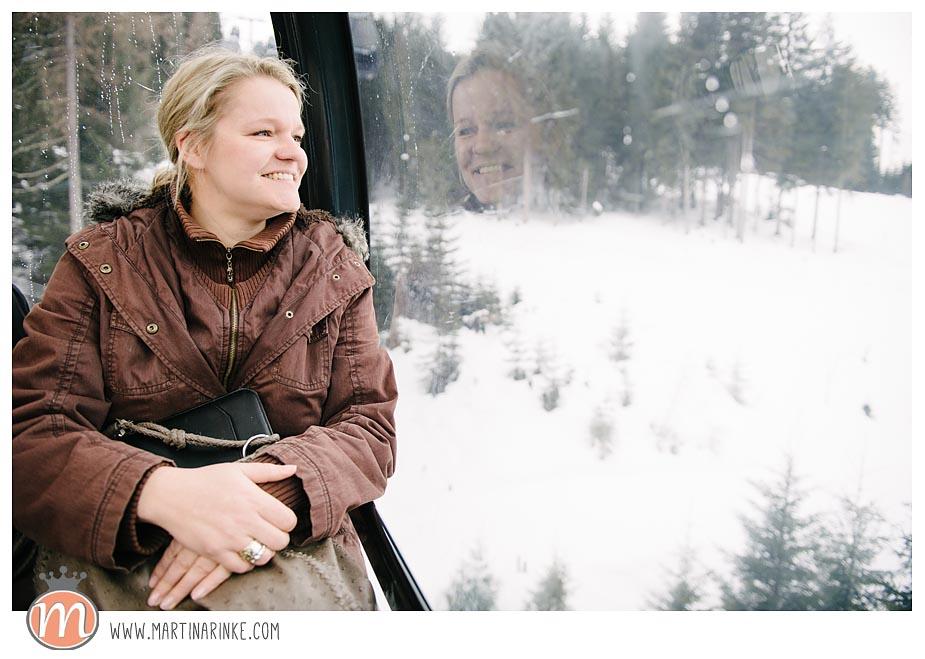 hochzeit österreich schnee